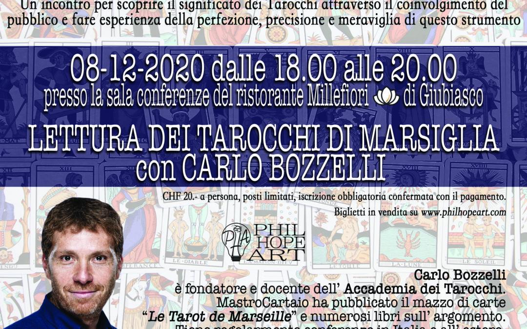 Lettura dei Tarocchi di Marsiglia con Carlo Bozzelli